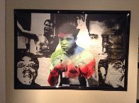 Muhammed  Ali  33x47 Limited Edition Print by Steve Kaufman - 1