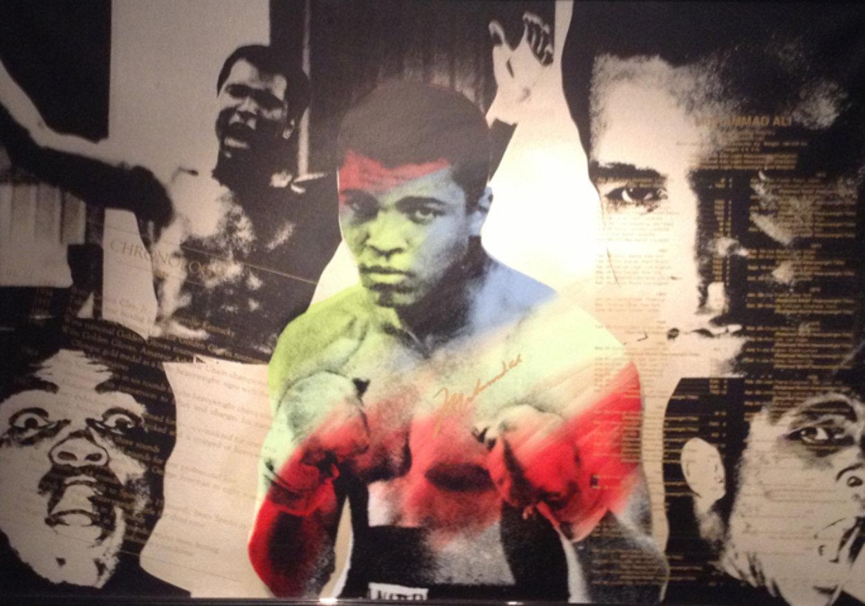 Muhammed  Ali  33x47 Limited Edition Print by Steve Kaufman