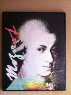 Mozart State 1 1996 45x36 Limited Edition Print by Steve Kaufman - 2