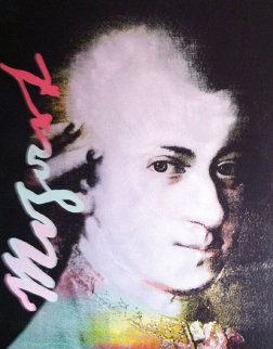 Mozart State 1 1996 45x36 Limited Edition Print by Steve Kaufman