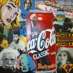 Historical Famous Icons Unique 2009 48x48 Original Painting - Steve Kaufman