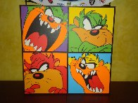 Taz With Attitude PP Limited Edition Print by Steve Kaufman - 1