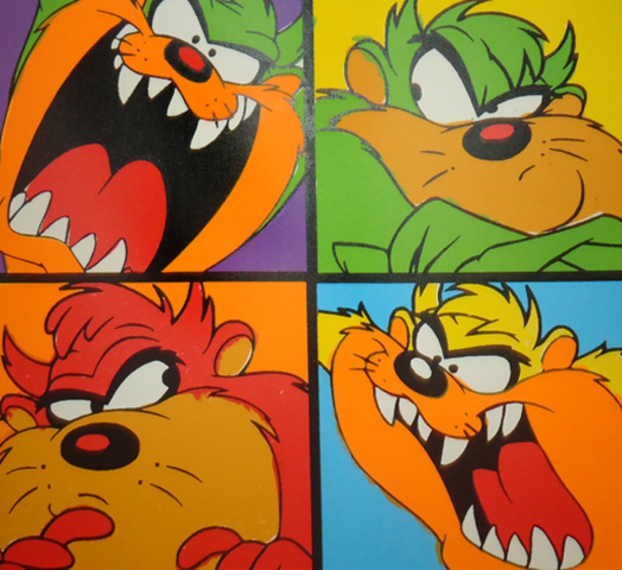 Taz With Attitude PP Limited Edition Print by Steve Kaufman