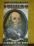 Ben Franklin AP 2003 Limited Edition Print by Steve Kaufman - 1