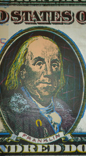 Ben Franklin AP 2003 Limited Edition Print by Steve Kaufman