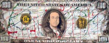 $100 Bill Limited Edition Print by Steve Kaufman