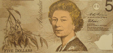 Australian Money Limited Edition Print by Steve Kaufman