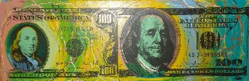 Old And New $100 Dollar TP 2006 Limited Edition Print by Steve Kaufman