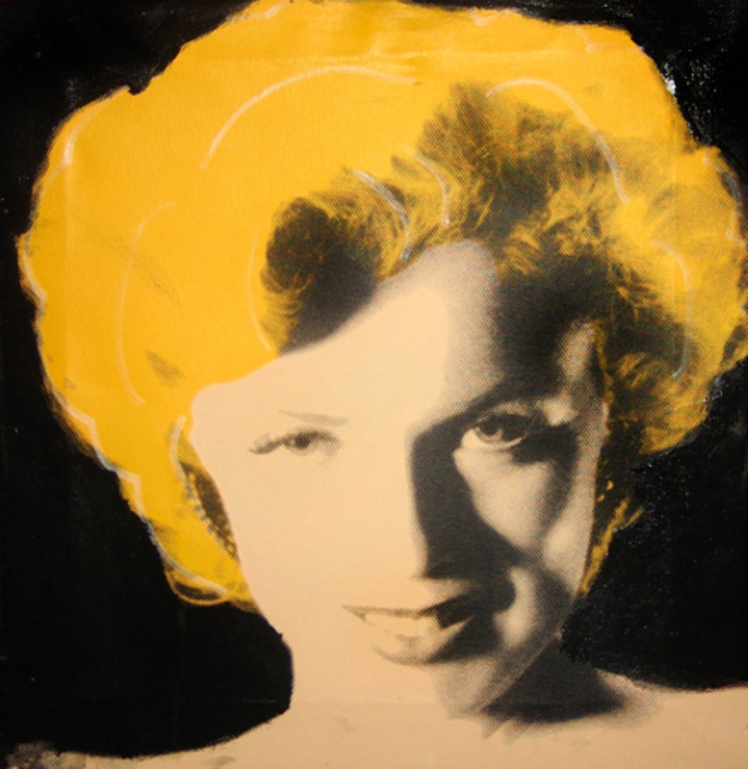 Shy Marilyn Limited Edition Print by Steve Kaufman
