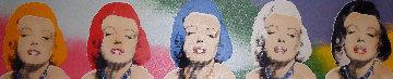 5 Marilyns Limited Edition Print - Steve Kaufman