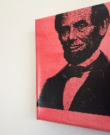 Abe Lincoln Portrait of an Achiever PP Limited Edition Print by Steve Kaufman - 2