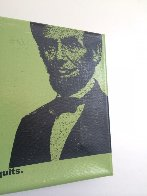 Abe Lincoln Portrait of an Achiever PP Limited Edition Print by Steve Kaufman - 4