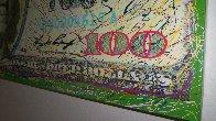 $100 Bill Original Painting by Steve Kaufman - 2
