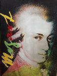 Mozart State I And II, Set of 2 Unique  Screenprints 2000 Unique 44x35 Original Painting - Steve Kaufman