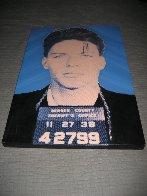 Frank Sinatra: Mug Shot  AP 1998 Limited Edition Print by Steve Kaufman - 2