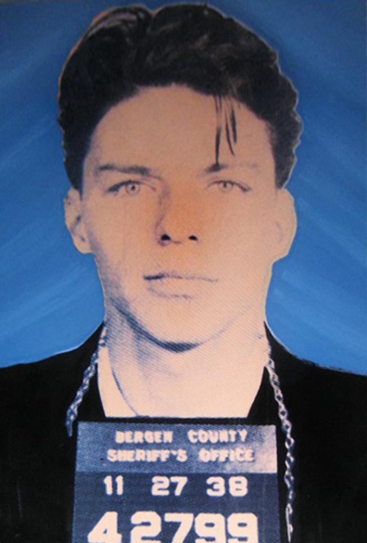 Frank Sinatra: Mug Shot  AP 1998 Limited Edition Print by Steve Kaufman