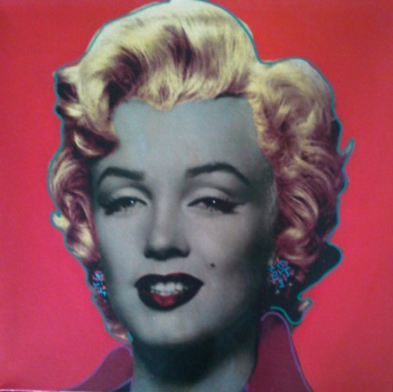 Marilyn Monroe AP 2003 Embellished Limited Edition Print by Steve Kaufman