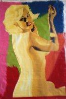 Marilyn Nude AP 1995 60x40 Super Huge  Limited Edition Print by Steve Kaufman - 3
