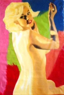 Marilyn Nude AP 1995 60x40 Huge  Limited Edition Print - Steve Kaufman