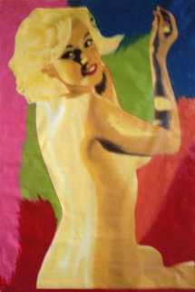Marilyn Nude AP 1995 60x40 Super Huge  Limited Edition Print - Steve Kaufman