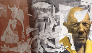 Guernica Picasso Unique 2000 Limited Edition Print by Steve Kaufman