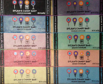 Dylan's Candy Bar 10 Candy Bars Unique 2007 23x19 Original Painting by Steve Kaufman