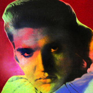 Elvis I (Red) 1996 Limited Edition Print by Steve Kaufman