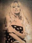 Pamela Anderson  Limited Edition Print - Steve Kaufman