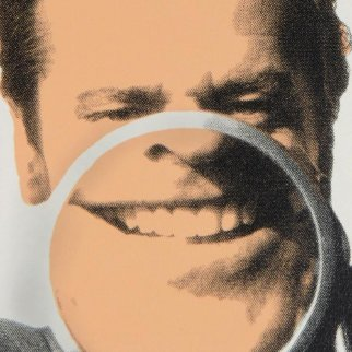 Jack Nicholson Close Up Limited Edition Print - Steve Kaufman