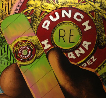 Punch 1995 Limited Edition Print by Steve Kaufman