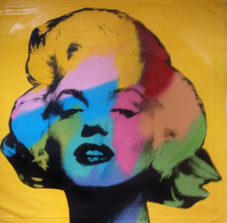 Marilyn Large State Yellow AP  1996 Limited Edition Print by Steve Kaufman