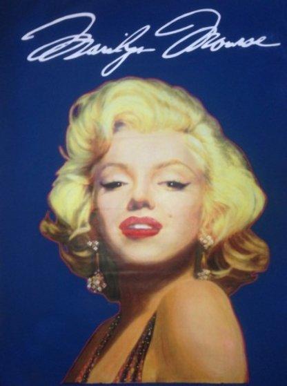 Marilyn Unique 1996 46x36 Original Painting by Steve Kaufman