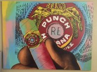 Punch Cigar (Large) Limited Edition Print by Steve Kaufman - 1