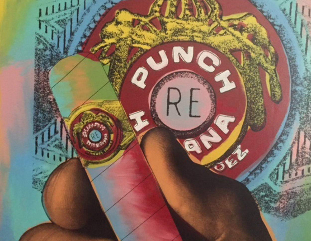 Punch Cigar (Large) Limited Edition Print by Steve Kaufman