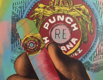 Punch Cigar (Large) Limited Edition Print - Steve Kaufman