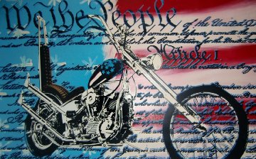 Freedom to Ride Limited Edition Print - Steve Kaufman