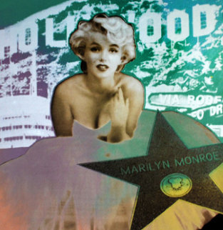 Marilyn Monroe Hollywood Limited Edition Print by Steve Kaufman