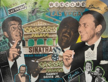 Rat Pack Caesars Palace AP Limited Edition Print - Steve Kaufman
