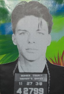 Frank Sinatra Mugshot Limited Edition Print by Steve Kaufman