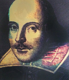 Shakespeare 1996 Limited Edition Print by Steve Kaufman
