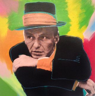 Frank Sinatra, Mr. Entertainer AP Limited Edition Print - Steve Kaufman