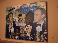 Rat Pack 2000 Limited Edition Print by Steve Kaufman - 1