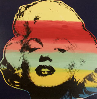 Marilyn Series II Blue AP 1995 Limited Edition Print by Steve Kaufman
