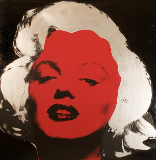 Marilyn Series VI  (Black) 1995 Limited Edition Print - Steve Kaufman