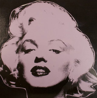 Marilyn Series III  (Midnight) 1995 Limited Edition Print by Steve Kaufman