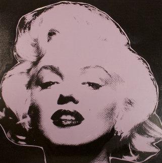 Marilyn Series III  (Midnight) 1995 Limited Edition Print by Steve Kaufman