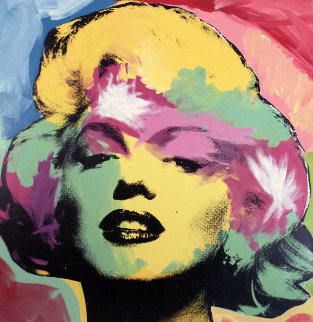Marilyn Series IV 1995 Limited Edition Print - Steve Kaufman