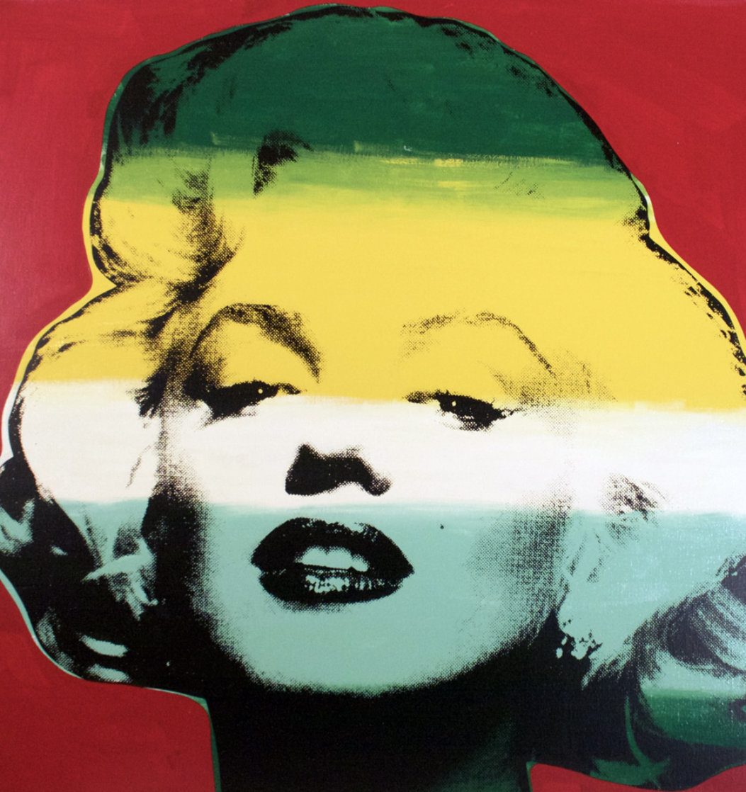 Marilyn Series I (Red) 1995 Limited Edition Print by Steve Kaufman