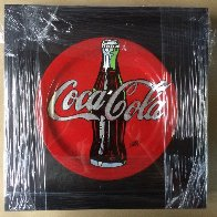 Coca Cola Ceramic Plate Unique Other by Steve Kaufman - 1