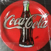 Coca Cola Ceramic Plate Unique Other by Steve Kaufman - 0